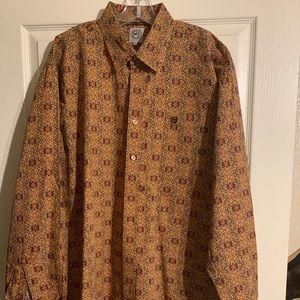 Men's cinch wester shirt